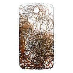 Digitally Painted Colourful Winter Branches Illustration Samsung Galaxy Mega I9200 Hardshell Back Case
