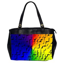 A Creative Colorful Background Office Handbags (2 Sides)  by Nexatart