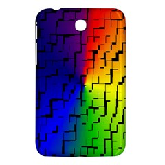 A Creative Colorful Background Samsung Galaxy Tab 3 (7 ) P3200 Hardshell Case  by Nexatart