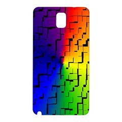 A Creative Colorful Background Samsung Galaxy Note 3 N9005 Hardshell Back Case by Nexatart
