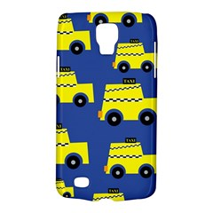 A Fun Cartoon Taxi Cab Tiling Pattern Galaxy S4 Active by Nexatart