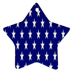 Starry Header Star Ornament (two Sides)