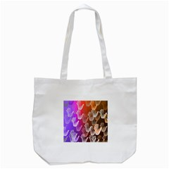 Clipart Hands Background Pattern Tote Bag (white) by Nexatart