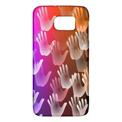 Clipart Hands Background Pattern Galaxy S6