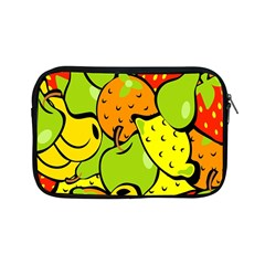 Digitally Created Funky Fruit Wallpaper Apple Ipad Mini Zipper Cases by Nexatart
