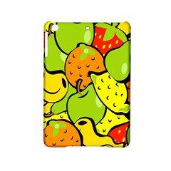 Digitally Created Funky Fruit Wallpaper Ipad Mini 2 Hardshell Cases by Nexatart