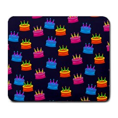 A Tilable Birthday Cake Party Background Large Mousepads by Nexatart