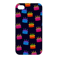A Tilable Birthday Cake Party Background Apple Iphone 4/4s Premium Hardshell Case by Nexatart