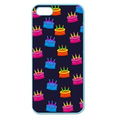 A Tilable Birthday Cake Party Background Apple Seamless Iphone 5 Case (color)