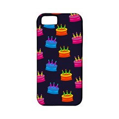 A Tilable Birthday Cake Party Background Apple Iphone 5 Classic Hardshell Case (pc+silicone) by Nexatart