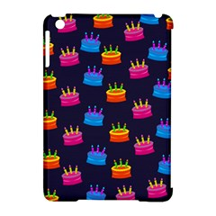 A Tilable Birthday Cake Party Background Apple Ipad Mini Hardshell Case (compatible With Smart Cover)