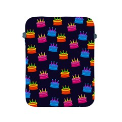 A Tilable Birthday Cake Party Background Apple Ipad 2/3/4 Protective Soft Cases