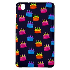 A Tilable Birthday Cake Party Background Samsung Galaxy Tab Pro 8 4 Hardshell Case