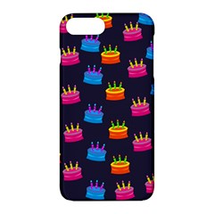 A Tilable Birthday Cake Party Background Apple Iphone 7 Plus Hardshell Case by Nexatart