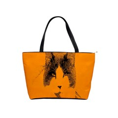 Cat Graphic Art Shoulder Handbags by Nexatart