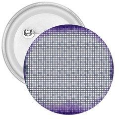 Purple Square Frame With Mosaic Pattern 3  Buttons