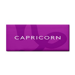 Zodiac Capricorn Purple Cosmetic Storage Cases by Mariart
