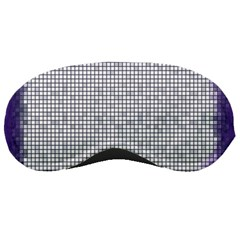 Purple Square Frame With Mosaic Pattern Sleeping Masks by Nexatart