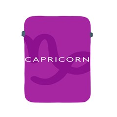 Zodiac Capricorn Purple Apple Ipad 2/3/4 Protective Soft Cases by Mariart
