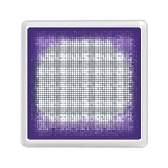 Purple Square Frame With Mosaic Pattern Memory Card Reader (square)  by Nexatart