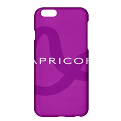 Zodiac Capricorn Purple Apple Iphone 6 Plus/6s Plus Hardshell Case by Mariart