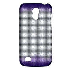 Purple Square Frame With Mosaic Pattern Galaxy S4 Mini by Nexatart
