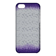 Purple Square Frame With Mosaic Pattern Apple Iphone 5c Hardshell Case by Nexatart