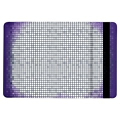 Purple Square Frame With Mosaic Pattern Ipad Air Flip by Nexatart