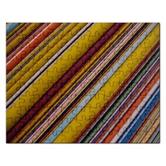 Colourful Lines Rectangular Jigsaw Puzzl by Nexatart