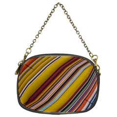 Colourful Lines Chain Purses (two Sides)  by Nexatart