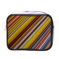 Colourful Lines Mini Toiletries Bags