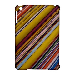 Colourful Lines Apple Ipad Mini Hardshell Case (compatible With Smart Cover) by Nexatart