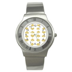 Card Symbols Stainless Steel Watch by Mariart