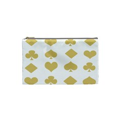 Card Symbols Cosmetic Bag (small)  by Mariart