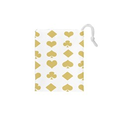 Card Symbols Drawstring Pouches (xs)  by Mariart