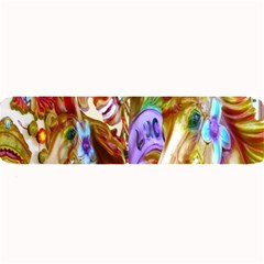 3 Carousel Ride Horses Large Bar Mats by Nexatart