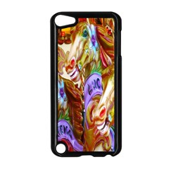 3 Carousel Ride Horses Apple Ipod Touch 5 Case (black) by Nexatart