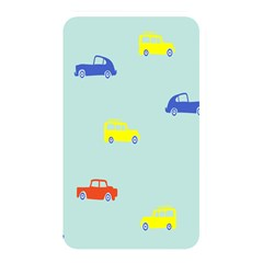 Car Yellow Blue Orange Memory Card Reader by Mariart