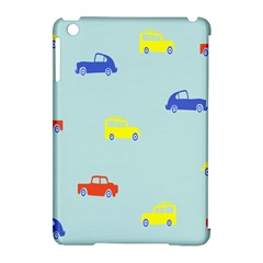 Car Yellow Blue Orange Apple Ipad Mini Hardshell Case (compatible With Smart Cover) by Mariart