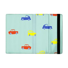 Car Yellow Blue Orange Ipad Mini 2 Flip Cases by Mariart