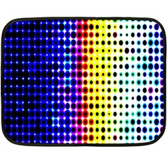 A Creative Colorful Background Fleece Blanket (mini)