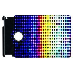 A Creative Colorful Background Apple Ipad 2 Flip 360 Case by Nexatart