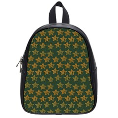 Stars Pattern Background School Bags (small)