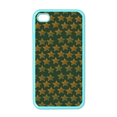 Stars Pattern Background Apple Iphone 4 Case (color) by Nexatart