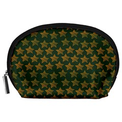 Stars Pattern Background Accessory Pouches (large)  by Nexatart