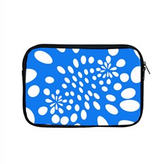 Circles Polka Dot Blue White Apple Macbook Pro 15  Zipper Case by Mariart