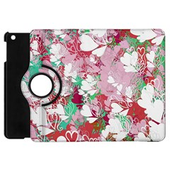 Confetti Hearts Digital Love Heart Background Pattern Apple Ipad Mini Flip 360 Case by Nexatart