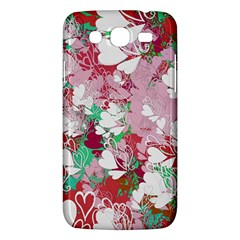 Confetti Hearts Digital Love Heart Background Pattern Samsung Galaxy Mega 5 8 I9152 Hardshell Case