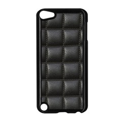 Black Cell Leather Retro Car Seat Textures Apple Ipod Touch 5 Case (black) by Nexatart