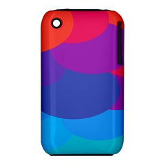 Circles Colorful Balloon Circle Purple Blue Red Orange Iphone 3s/3gs by Mariart